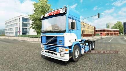 Volvo F16 Nor-Cargo v1.1 para Euro Truck Simulator 2