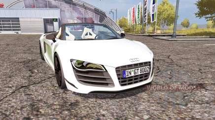 Audi R8 Spyder v1.1 para Farming Simulator 2013