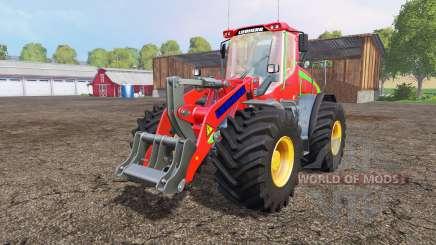 Liebherr L538 big wheels para Farming Simulator 2015