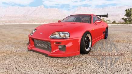 Toyota Supra engine pack v2.0 para BeamNG Drive