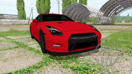 Nissan GT-R (R35) para Farming Simulator 2017