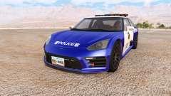 Hirochi SBR4 chinese police v2.7 para BeamNG Drive