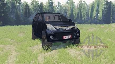 Toyota Avanza para Spin Tires