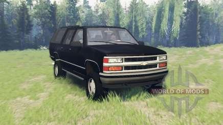 Chevrolet Suburban (GMT400) para Spin Tires