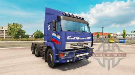 KamAZ 6460 v2.Três para Euro Truck Simulator 2