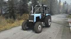 MTZ Bielorrússia 1221.2 v1.1 para Spin Tires