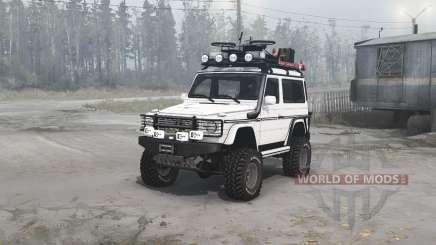 Mercedes-Benz G 500 SWB (W463) para MudRunner
