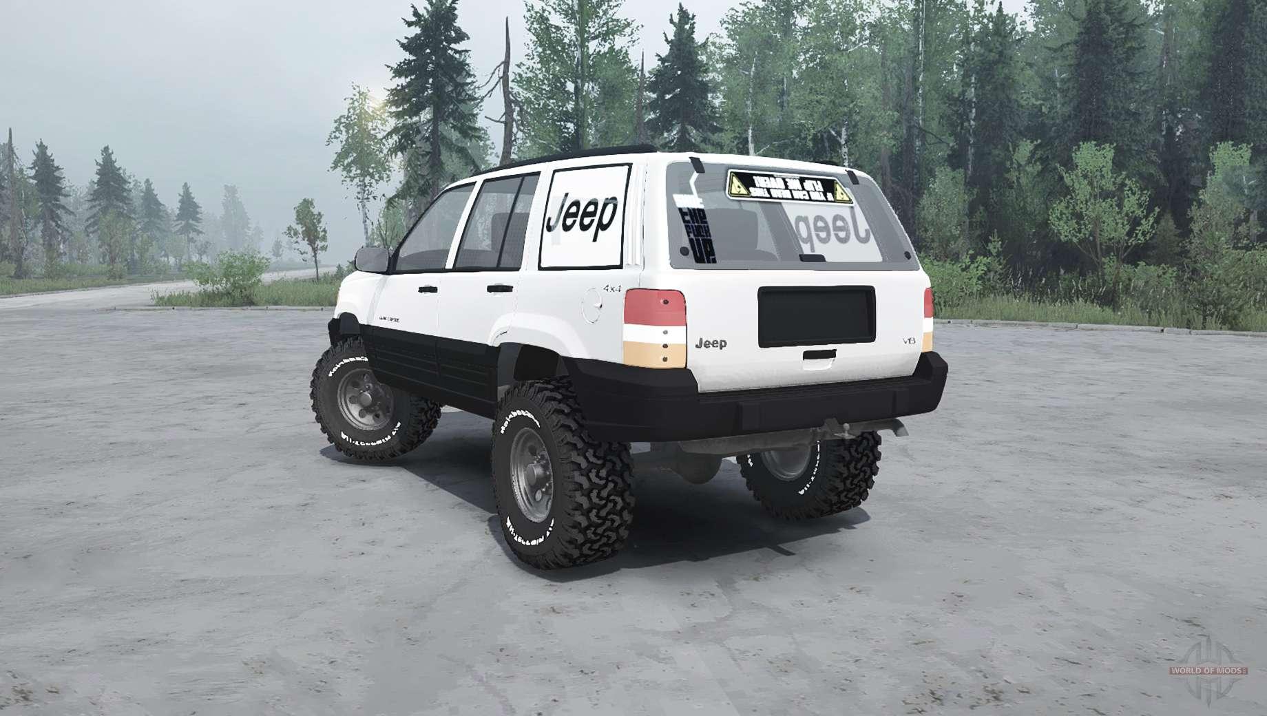 Jeep Grand Cherokee (ZJ) para Spintires MudRunner