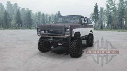 Chevrolet K5 Blazer para MudRunner