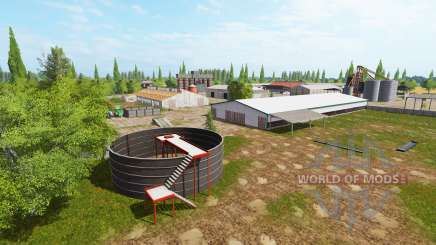 Polaco AgroFarm v0.75 para Farming Simulator 2017