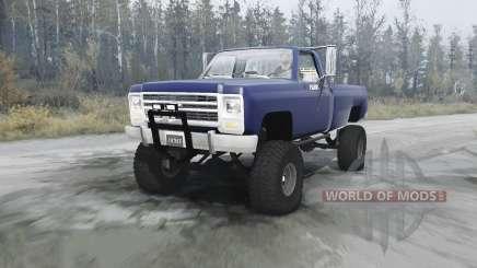 Chevrolet K20 para MudRunner