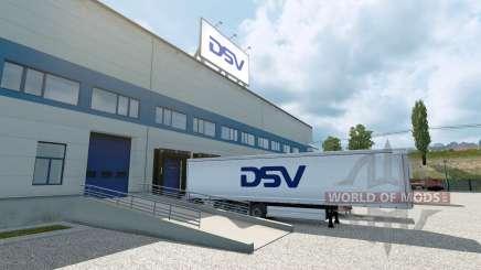 A nova empresa para Euro Truck Simulator 2