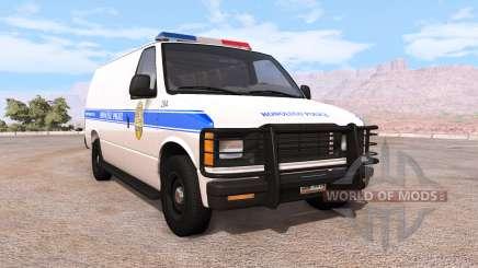 Gavril H-Series honolulu police v1.02 para BeamNG Drive