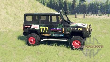 UAZ 3172 para Spin Tires