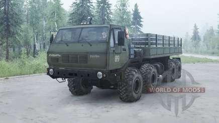 KrAZ 7Э6316 Sibéria para MudRunner