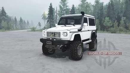 Mercedes-Benz G 500 SWB (W463) v1.1 para MudRunner