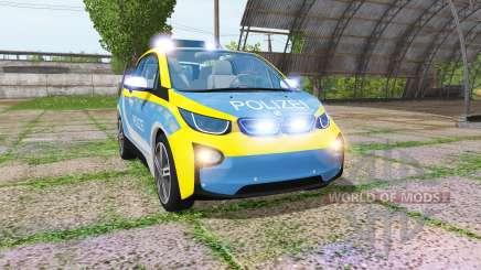 BMW i3 (I01) autobahnplizei para Farming Simulator 2017