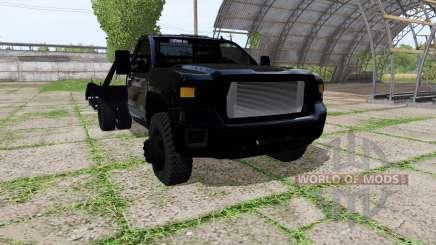 GMC Sierra tow truck para Farming Simulator 2017