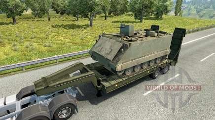 Military cargo pack v2.1 para Euro Truck Simulator 2