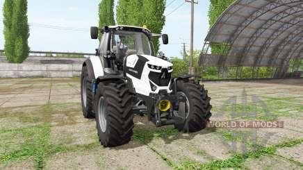 Deutz-Fahr Agrotron 6175 TTV white edition para Farming Simulator 2017