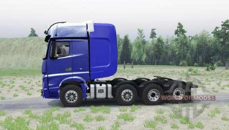 Mercedes-Benz Actros 4163 SLT (MP4) para Spin Tires