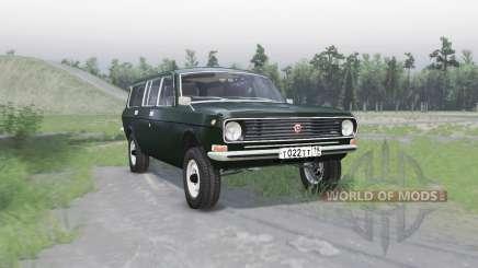 GAZ 24-12 Volga v1.1 para Spin Tires
