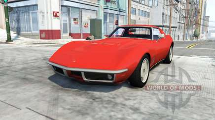 Chevrolet Corvette Stingray 1969 para BeamNG Drive