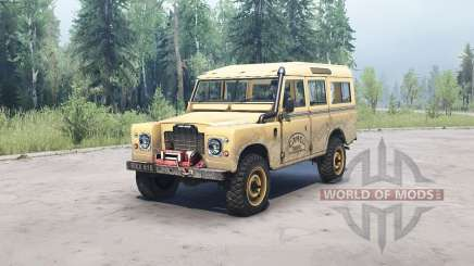 Land Rover Defender Series III para MudRunner