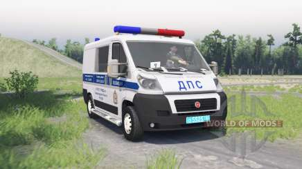 Fiat Ducato (250) ДПС para Spin Tires