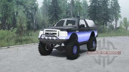 Ford Excursion para MudRunner
