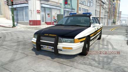Gavril Grand Marshall tennessee state trooper para BeamNG Drive