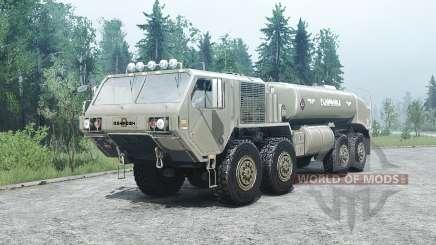 Oshkosh HEMTT (M977) para MudRunner