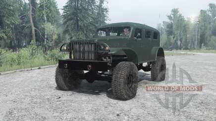 Dodge WC-53 Carryall (T214) 1942 para MudRunner