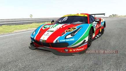 Ferrari 488 GTE para BeamNG Drive