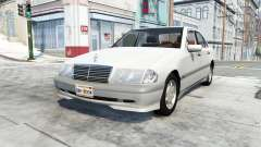 Mercedes-Benz C 200 (W202) para BeamNG Drive