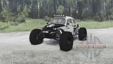 Volkswagen Beetle PreRunner para MudRunner