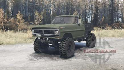 Ford F-350 1970 para MudRunner