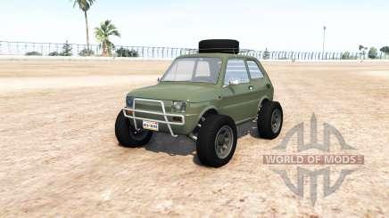 Fiat 126p v9.0 para BeamNG Drive