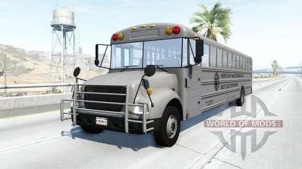 Dansworth D1500 (Type-C) state prison bus para BeamNG Drive
