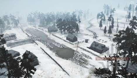 Inverno Da Sibéria para Spintires MudRunner