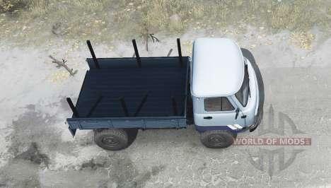 UAZ 33036 para Spintires MudRunner