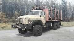 Ural 4320-1912-40 para MudRunner