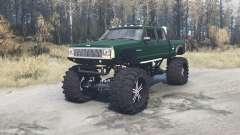 Jeep Comanche monster para MudRunner