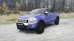 Ford Ranger Single Cab 2016 v2.0 para MudRunner