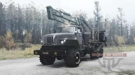 Ural 4320-60 para MudRunner