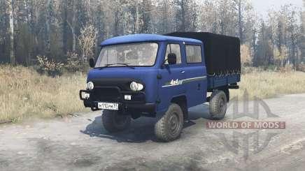 UAZ 39094 Agricultor para MudRunner
