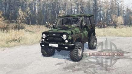 UAZ hunter (315195) expedição para MudRunner