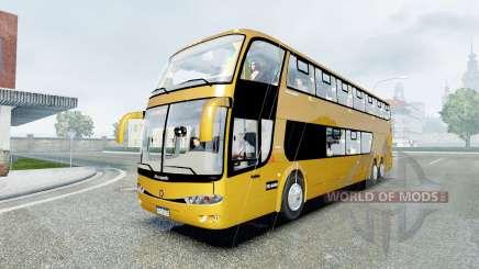 Marcopolo Paradiso 1800 DD 6x2 (G6) 2009 para Euro Truck Simulator 2