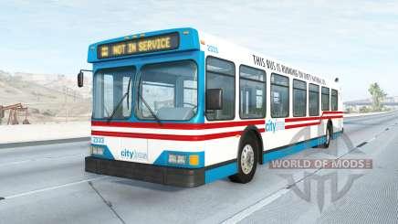 Wentward DT40L Belasco City v2.1 para BeamNG Drive