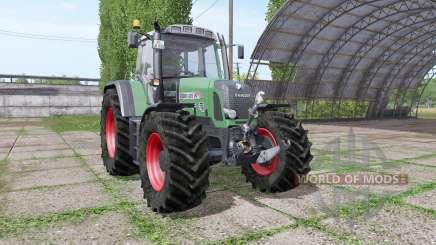 Fendt 820 Vario TMS v1.4 para Farming Simulator 2017